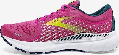 BROOKS Laufschuh ' Adrenaline Gts 21 ' in gelb / pink, Produktansicht