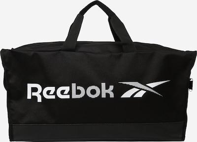 Reebok Sport Sporttasche en noir / blanc, Vue avec produit