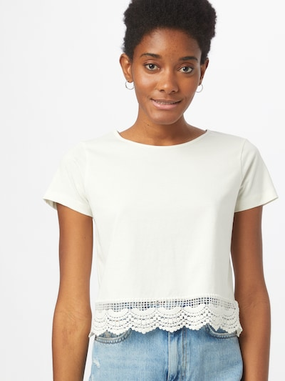 ABOUT YOU Shirt 'Suki' in Off white: Frontal view