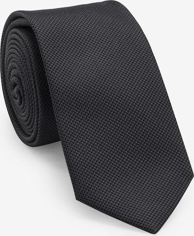 UNA Germany Krawatte in schwarz, Produktansicht