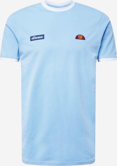 Tricou 'Ring' ELLESSE pe albastru deschis / albastru închis / portocaliu / roșu / alb, Vizualizare produs