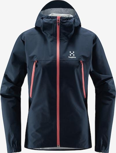 Haglöfs Outdoorjas 'Spira' in de kleur Navy / Pink / Wit, Productweergave