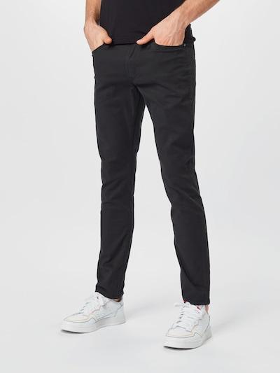 JACK & JONES Byxa 'GLENN' i svart, På modell