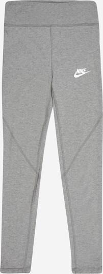 Nike Sportswear Leggings in grau / weiß, Produktansicht