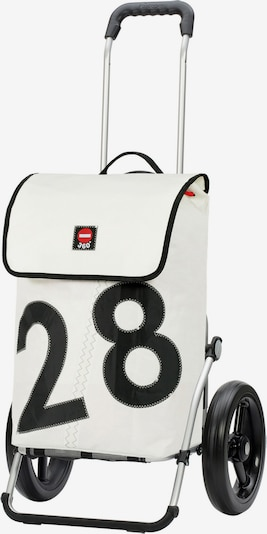 Andersen Shopper Einkaufstrolley 'Royal' in schwarz / weiß, Produktansicht