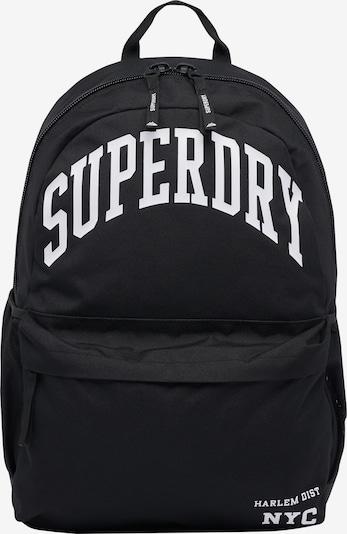 Superdry Rugzak 'Arch Montana' in de kleur Zwart / Wit, Productweergave