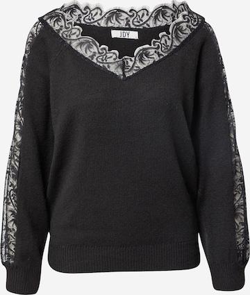 JDY Пуловер 'CAMINA' в черно