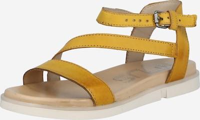 MJUS Sandale 'KETTA' in gelb, Produktansicht