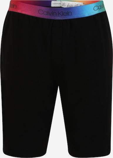 Calvin Klein Underwear Pyjamahose in türkis / dunkellila / orange / pitaya / schwarz, Produktansicht