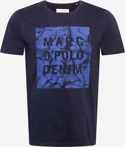 Marc O'Polo DENIM T-Shirt in himmelblau / dunkelblau, Produktansicht