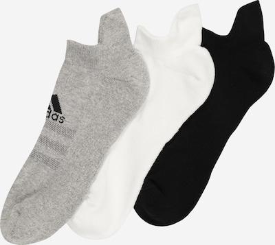 adidas Golf Chaussettes de sport en gris / noir / blanc, Vue avec produit