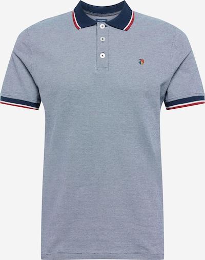 JACK & JONES Tričko - námornícka modrá / zmiešané farby: Pohľad spredu