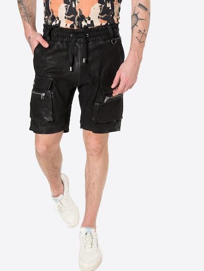 fekete tigha Cargo nadrágok 'Bence', Modell nézet