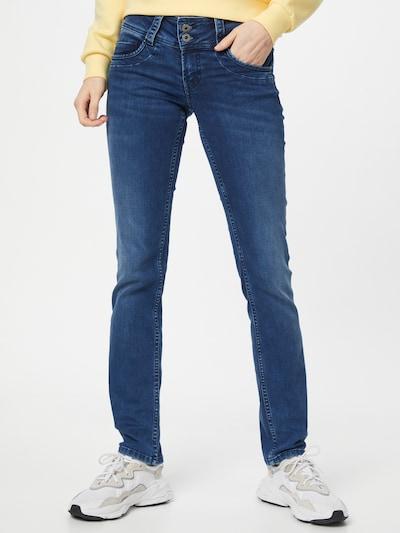 Pepe Jeans Jean 'GEN' en bleu denim, Vue avec modèle