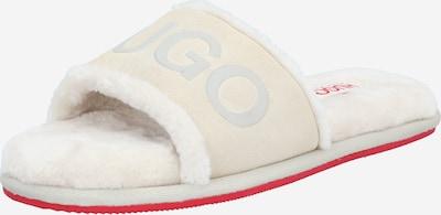 HUGO Sisäkenkä 'Cozy' värissä punainen / valkoinen, Tuotenäkymä
