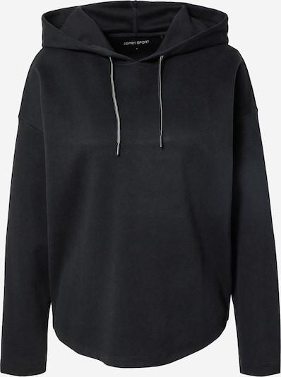 ESPRIT SPORT Athletic Sweatshirt in Black, Item view