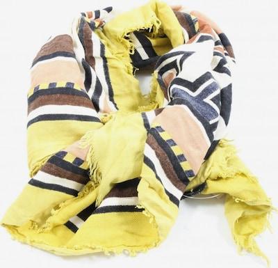 MANGO Sommerschal in One Size in creme / pastellgelb / schwarz, Produktansicht