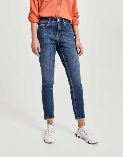 OPUS Jeans in de kleur Blauw, Modelweergave