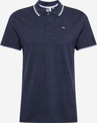 Hailys Men Poloshirt 'Piet' in navy / weiß, Produktansicht