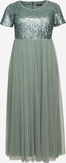 SHEEGO Kleid in pastellgrün / dunkelgrün, Produktansicht