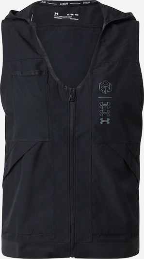 UNDER ARMOUR Chaleco deportivo 'Run Anywhere Vest' en gris / negro, Vista del producto
