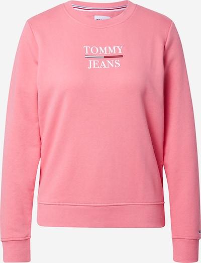 Tommy Jeans Sweatshirt in pink / rot / weiß, Produktansicht
