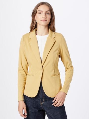 ICHI Blazer in Yellow