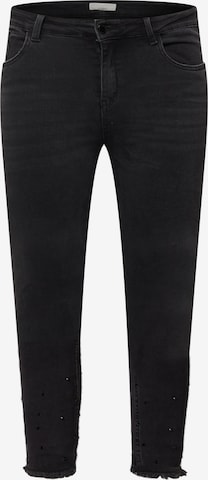 Guido Maria Kretschmer Curvy Collection Jeans 'Paola' in Black