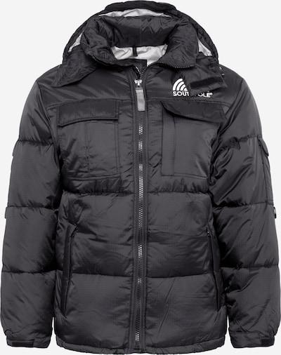 SOUTHPOLE Winterjas in de kleur Zwart, Productweergave