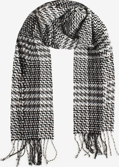 SAMAYA Modeschal 'KRIS' in schwarz / weiß, Produktansicht