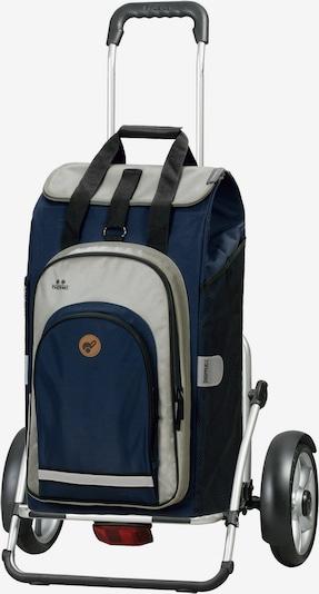 Andersen Shopper Einkaufstrolley 'Hydro 2.0' in navy / grau, Produktansicht