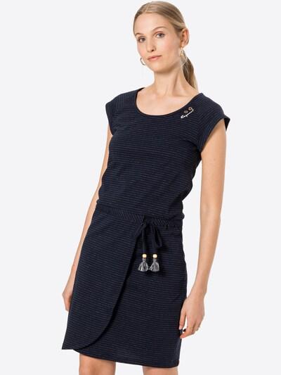 Ragwear Kleid in navy / weiß, Modelansicht