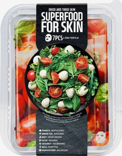 Farmskin Maskenset 'Superfood For Skin Tomato' in transparent, Produktansicht