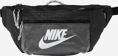 Nike Sportswear Sacs banane en gris / noir / blanc, Vue avec produit