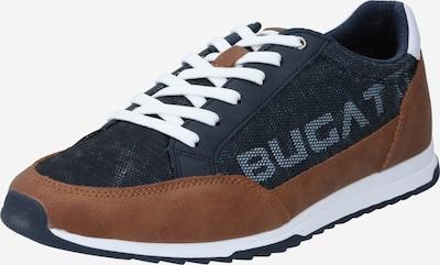 kék / barna / fehér bugatti Rövid szárú edzőcipők 'Riptide', Termék nézet