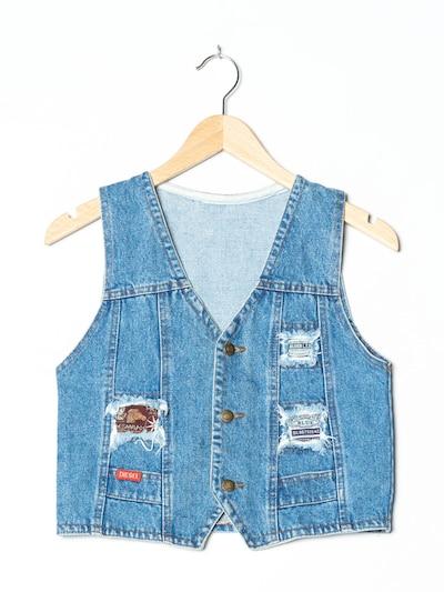 DIESEL Jeansweste in XS in blue denim, Produktansicht