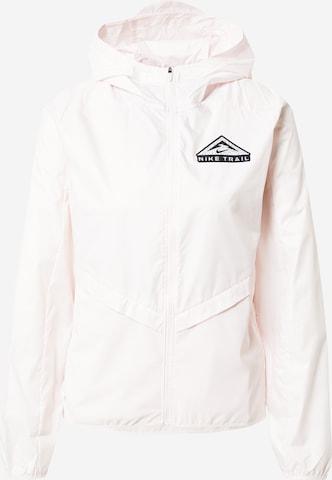NIKE Kurtka sportowa 'Shield' w kolorze różowy