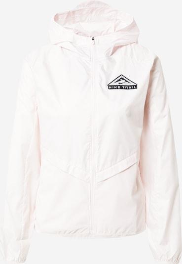 NIKE Sportjacke 'Shield' in grau / rosa / schwarz, Produktansicht