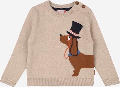 Boboli Pullover 'Hündchen' in beige / braun, Produktansicht