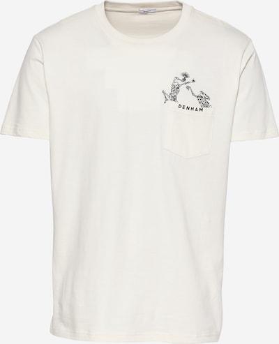 DENHAM Shirt 'FRIDAY' in hellbeige / schwarz, Produktansicht