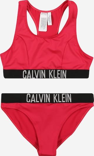 Calvin Klein Swimwear Bikini in de kleur Pitaja roze / Zwart / Wit, Productweergave