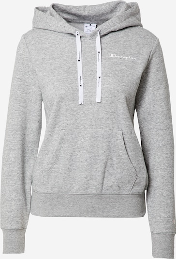 Champion Authentic Athletic Apparel Sweatshirt in grey mottled / white, Item view