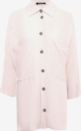 Madam-T Blouse 'Celestina' in de kleur Beige, Productweergave