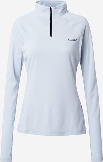adidas Terrex Funktionsshirt 'Trace Rocker' in schwarz / weiß, Produktansicht