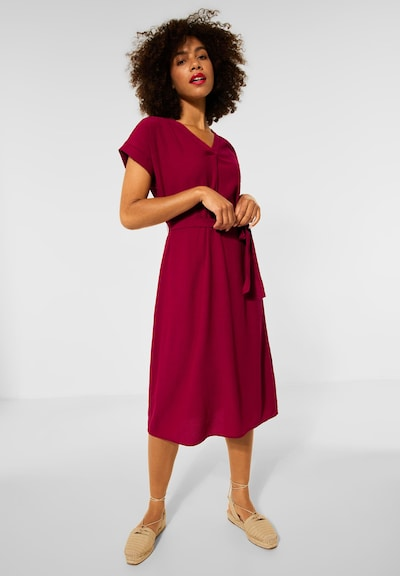 STREET ONE Kleid in rot, Modelansicht