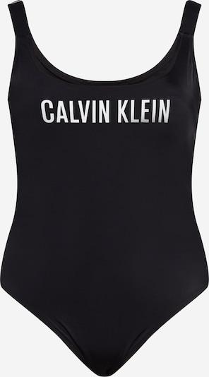 Calvin Klein Swimwear Badeanzug in schwarz / weiß, Produktansicht