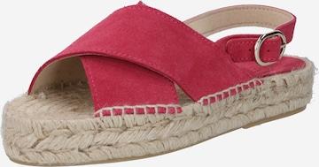 JUTELAUNE Sandale in Pink