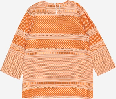 KIDS ONLY Blouse 'NELLA' in de kleur Donkeroranje / Wit, Productweergave