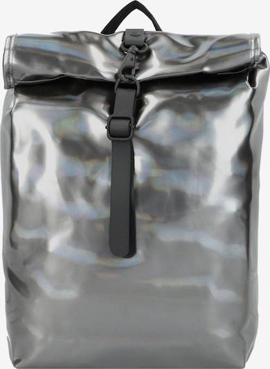 RAINS Rucksack in grau / silber, Produktansicht