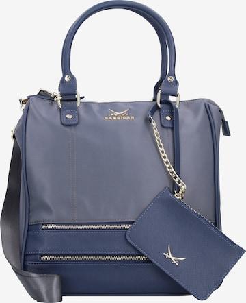 SANSIBAR Handtasche in Blau